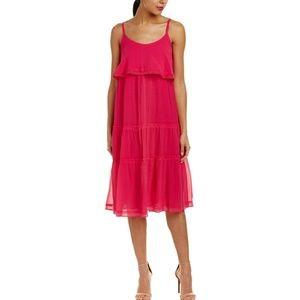 Trina Turk Narcissis Silk Blend Midi Dress 8